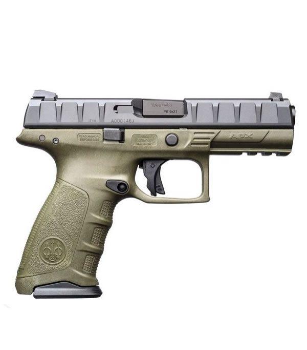 Pistola Beretta APX Olivo