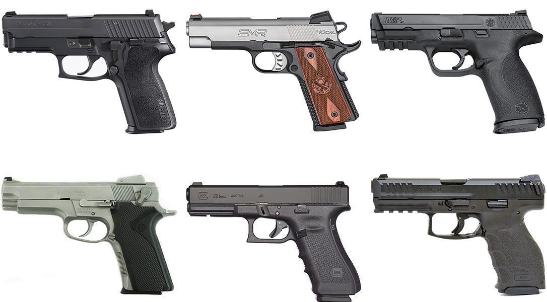 pistolas peru