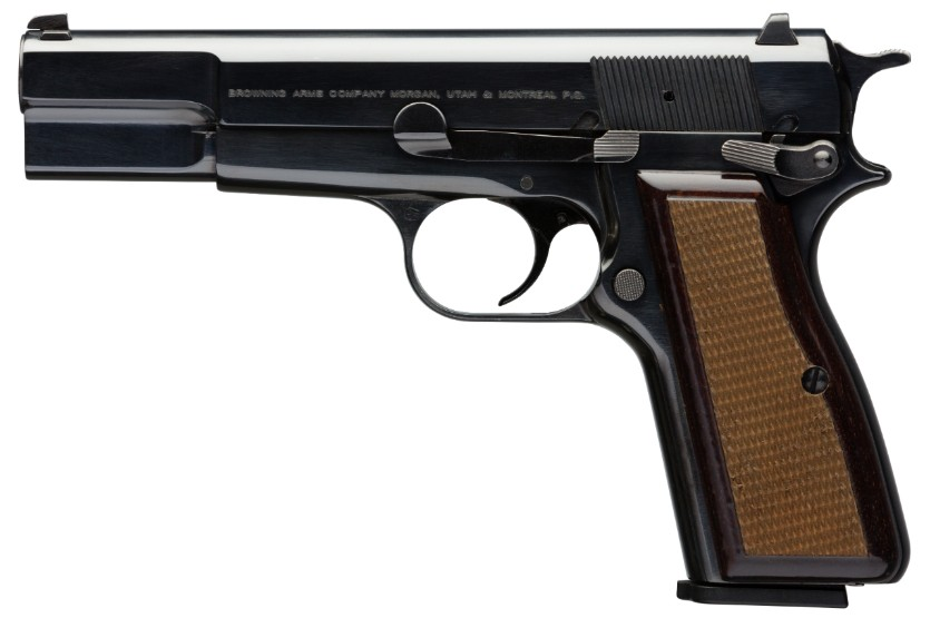 pistolas peru browning 9mm