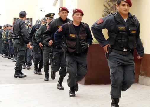 venta de armas policia del peru